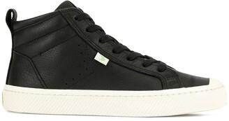 Cariuma OCA High Black Premium Leather Sneaker