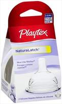 Playtex Naturalatchnipple, Fast Flow, Pack Of 2