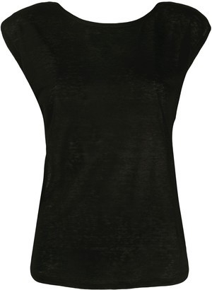 Forte Forte sleeveless fitted T-shirt
