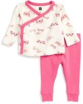 Tea Collection Infant Girl's Flutterby Top & Sweatpants Set