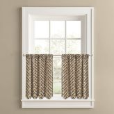 Colordrift Cabin Fever 2-pk. Tier Curtains
