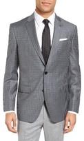 Ted Baker Men's Jay Trim Fit Check Wool Sport Coat