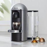 Crate & Barrel Nespresso ® Vertuo Deluxe Plus Silver Coffee Maker