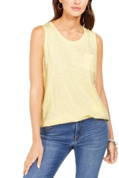 Style&Co. Style & Co One-Pocket Tank Top, Created for Macy's