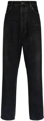 Balenciaga 26cm Baggy Cotton Denim Jeans