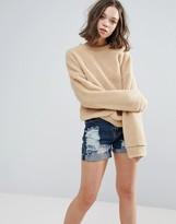 Glamorous Textured Sweatshirt