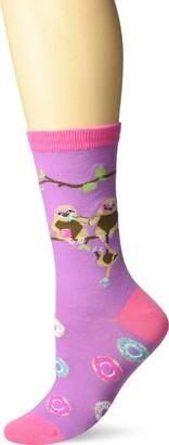 K. Bell Socks K. Bell Women's Playful Wildlife Novelty Fashion Crew Socks