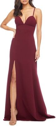 Dress the Population Alejandra Crepe Evening Gown