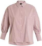 Nili Lotan Filmore striped cotton shirt