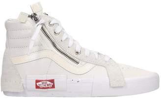 Vans Sk8-hi Reissue Sneakers In White Leather