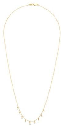 Ileana Makri Baguette Diamond & 18kt Gold Necklace - Yellow Gold