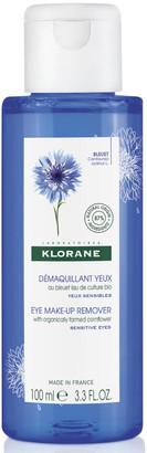Klorane Eye Make-Up Remover with Organically Farmed Cornflower 100ml
