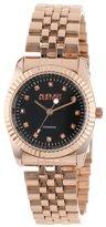 August Steiner Women's AS8046RG Diamond Stainless Steel Bracelet Watch