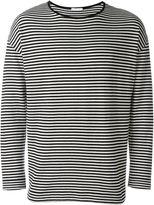 Societe Anonyme striped loose pullover - men - Cotton - L