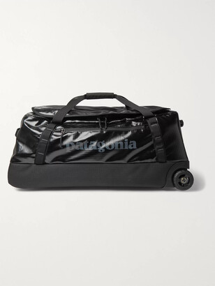 Patagonia Black Hole 70L Coated-Ripstop Wheeled Duffle Bag - Men - Black