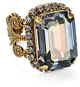 Sorrelli Swarovski Crystal Cocktail Ring