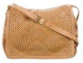 Giorgio Brato Woven Leather Messenger Bag