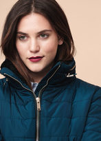 Violeta BY MANGO Side-Zip Quilted Coat