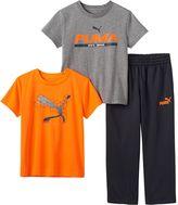 Puma Boys 4-7 Tee & Pants Set
