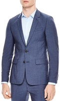 Sandro Notch Slim Fit Sport Coat