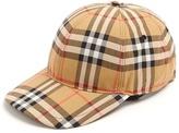 Burberry House-checked cotton cap