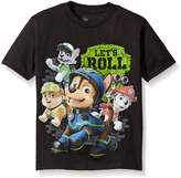 Nickelodeon Paw Patrol Little Boys Characters Short Sleeve T-Shirt