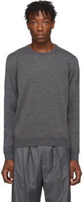Balenciaga Grey Fine Wool Sweater