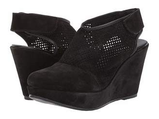 Cordani Ridley (Black Suede) Women's Shoes