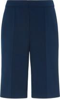 Victoria Victoria Beckham Crepe Knee-Length Shorts
