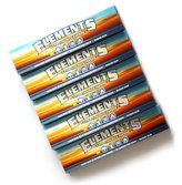 Element 5 booklets King Size Slim Ultra Thin rice rolling paper