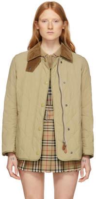 Burberry Beige Cotswald Jacket