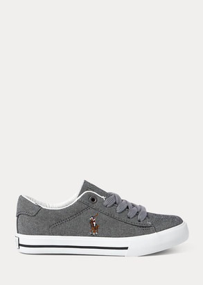 Ralph Lauren Easton II Chambray Sneaker