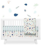 Babyletto 'Flora' Crib Sheet, Crib Skirt, Contour Changing Pad, Play Blanket, Stroller Blanket & Wall Decals