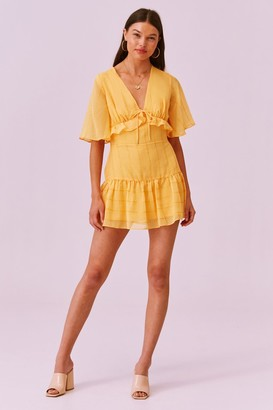 Finders Keepers EVIE MINI DRESS mango