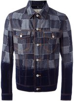 Casely-Hayford - patchwork denim jacket - men - Cotton - L