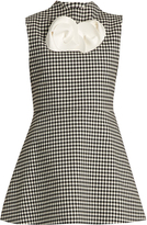 Awake Jellychess gingham sleeveless top