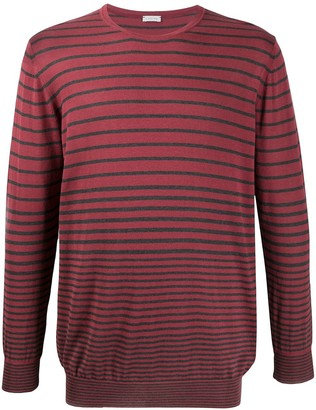 Caruso Striped Long-Sleeve Jumper