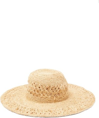 BEIGE Avenue The Label - Cetara Wide-brim Straw Hat - Womens
