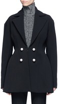 Ellery 'Marilyn' faux pearl embellished suiting jacket