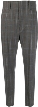 Etoile Isabel Marant Chequered Suit Trousers
