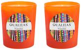 Qualitas Candles Pomander Candles (6.5 OZ) (Set of 2)