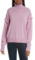 Rebecca Taylor Women's Turtleneck Merino Wool Sweater