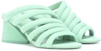 Mercedes Castillo Izzie Mid suede sandals