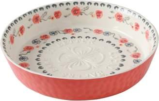 Anthropologie Daily Bake Stoneware Pie Dish