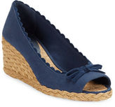 Lauren Ralph Lauren Chaning Open Toe Espadrille Wedges