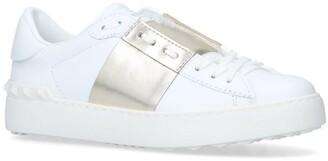 Valentino Garavani Leather Open Sneakers