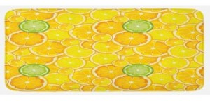 Ambesonne Printed Kitchen Mat