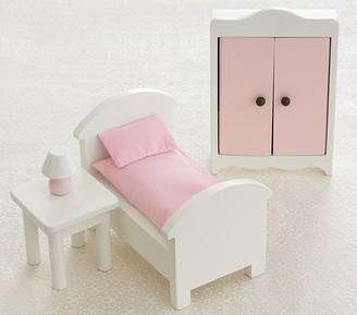 Pottery Barn Kids Dollhouse Bedroom Accessory Set