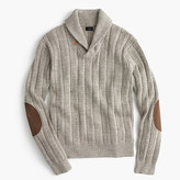 J.Crew Cotton mariner shawl-collar sweater