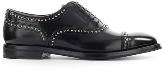 Church's Churchs Polished Fume Black Anna Met Oxford Lace-up
